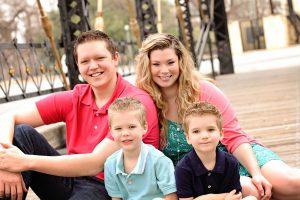 Samantha Sloan family photo