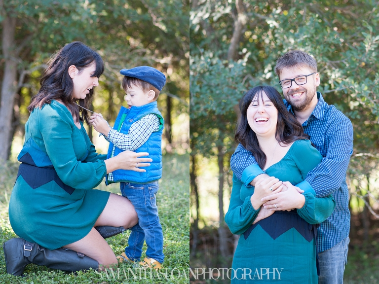 Newcomb family portraits with Samantha Sloan Photography