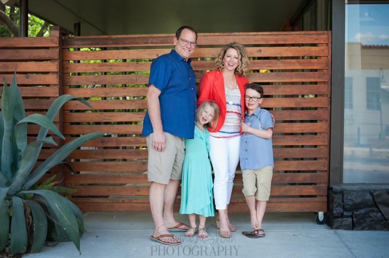 Family portraits in San Antonio