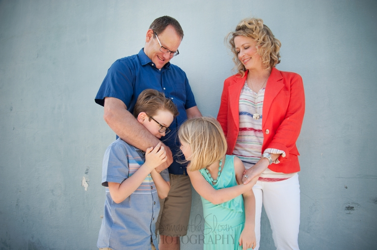San Antonio Family Taking Pictures In Southtown With Photographer Samantha Sloan Photography