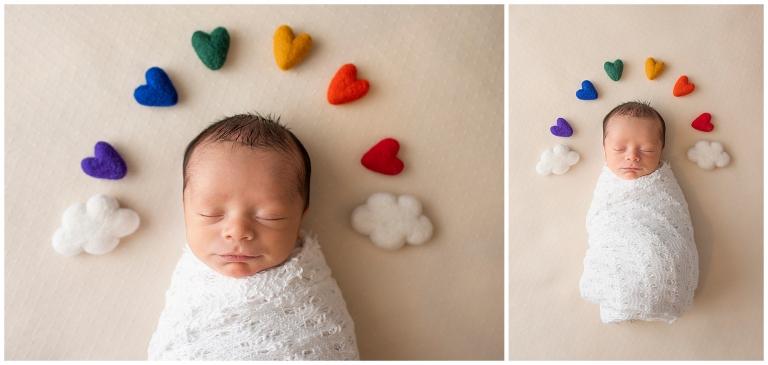 San Antonio Rainbow Baby Portrait