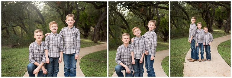 Bothers Posing For Samantha Sloan Photography For Portraits