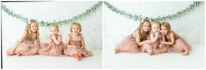 Whimsical First Birthday pictures For Baby Girl And Sisters